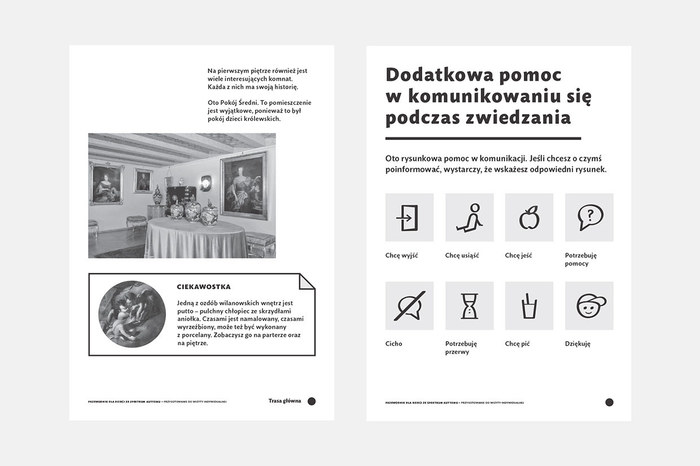 Guidebook for people with autism – Museum in Wilanów 3