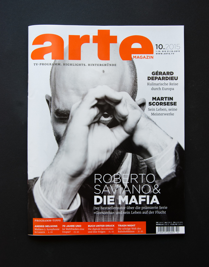 arte Magazin redesign (issue 10, 2015) 1