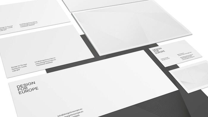 Design for Europe brand identity 4