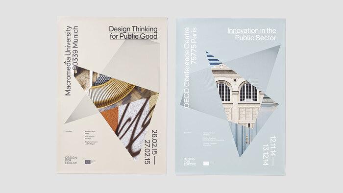 Design for Europe brand identity 5