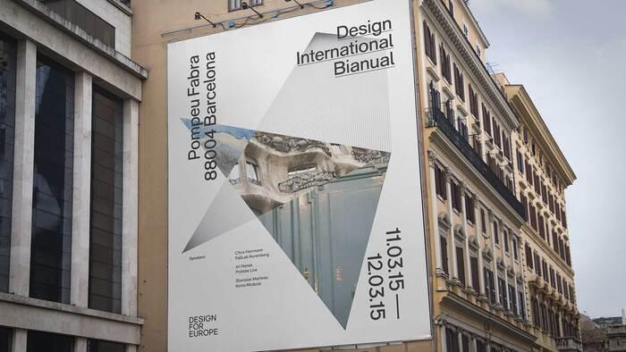 Design for Europe brand identity 1
