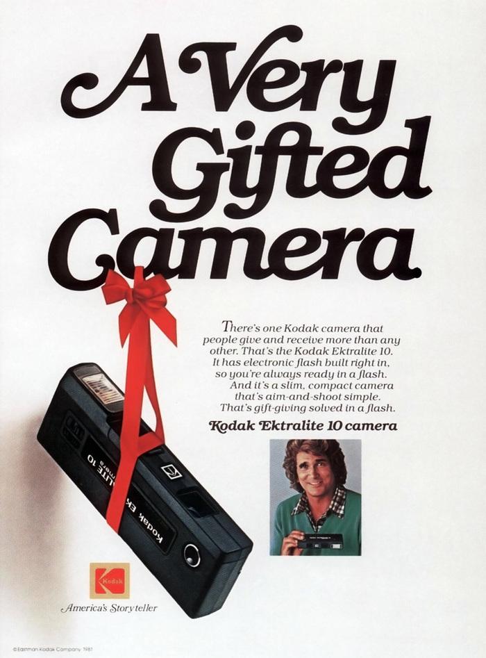 """A Very Gifted Camera"" — Boys' Life magazine, November 1981."