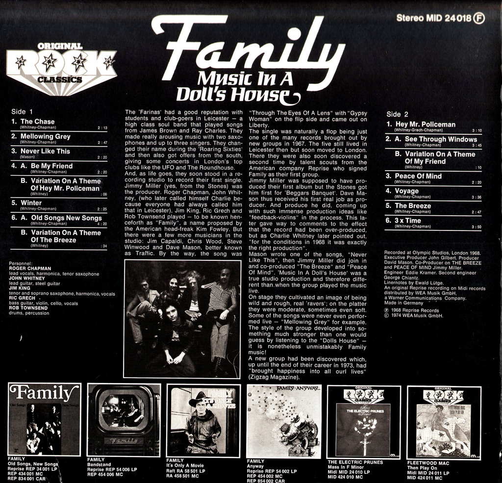 Music In A Doll S House By Family Fonts In Use