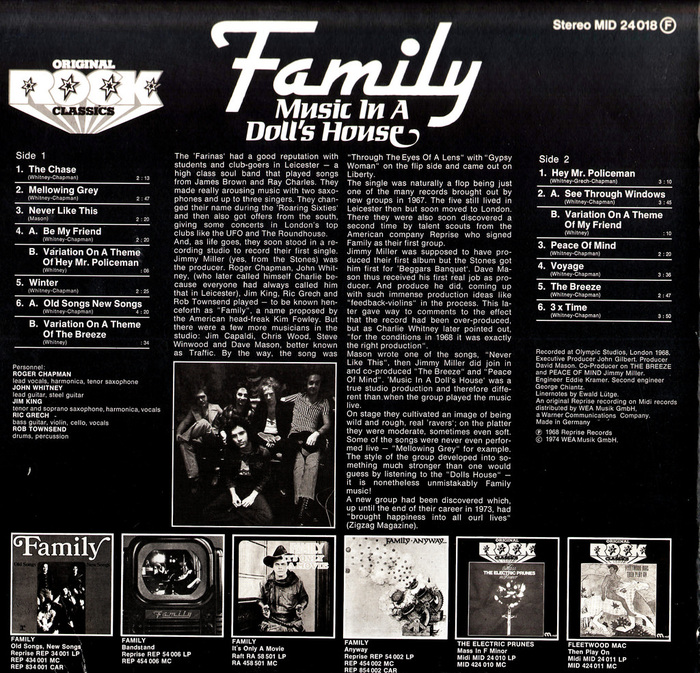 Music In A Doll's House – Family 2