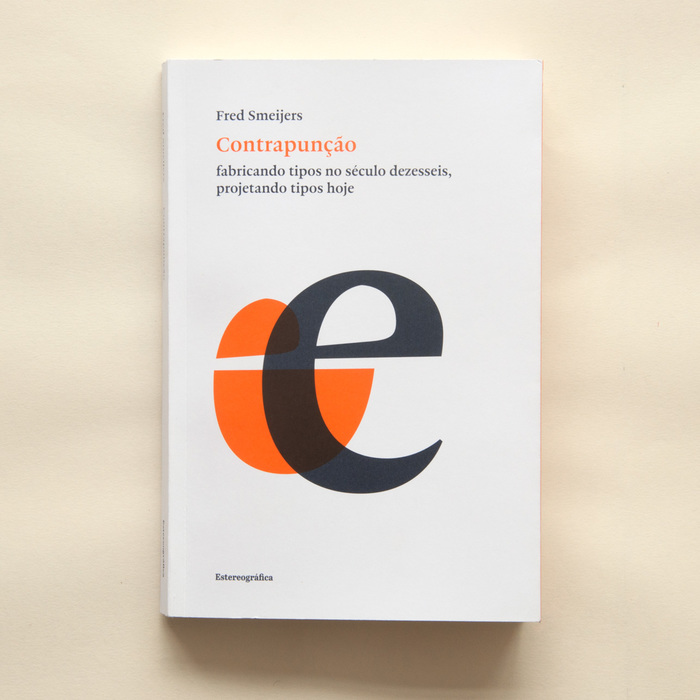 New cover for the Brazilian edition, designed by Rafael Dietzsch and André Maya, using Fred's custom 'counterpunch' font and Haultin, both tailored for this edition.