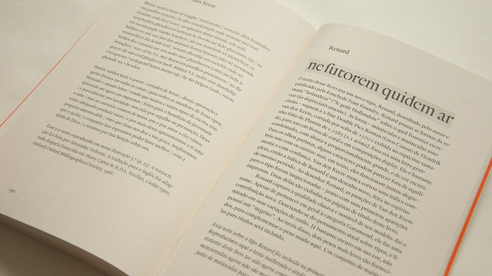 A description of Renard (TEFF) by Fred Smeijers, the typeface used for the first edition of the book.