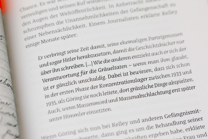 Close-up of FF Franziska Italic