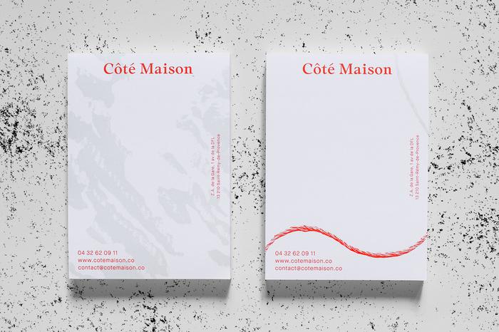 Côté Maison identity 2