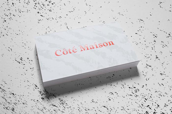Côté Maison identity 3
