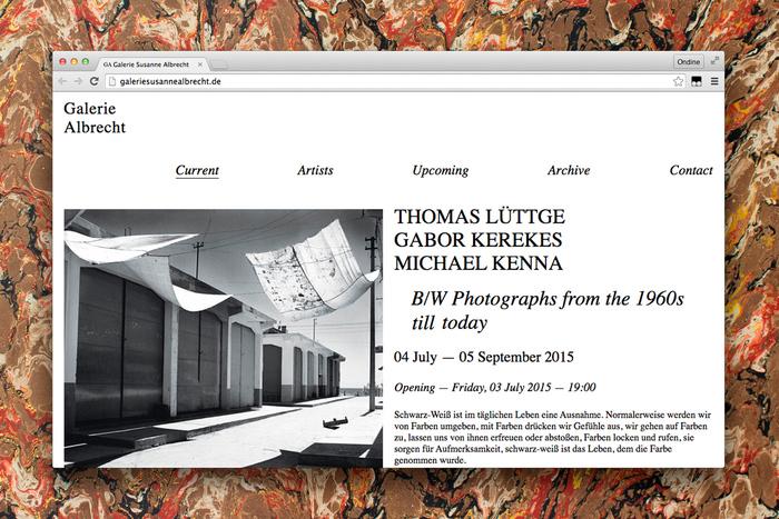 Galerie Albrecht identity 4