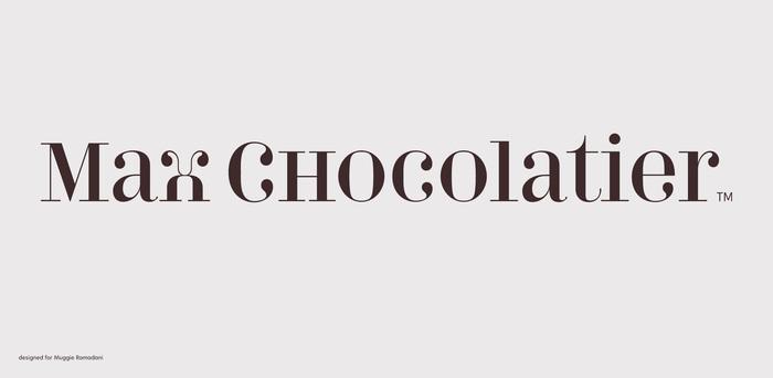 Max Chocolatier branding 1