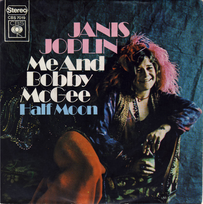 Me And Bobby McGee / Half Moon by Janis Joplin (NL release) 1