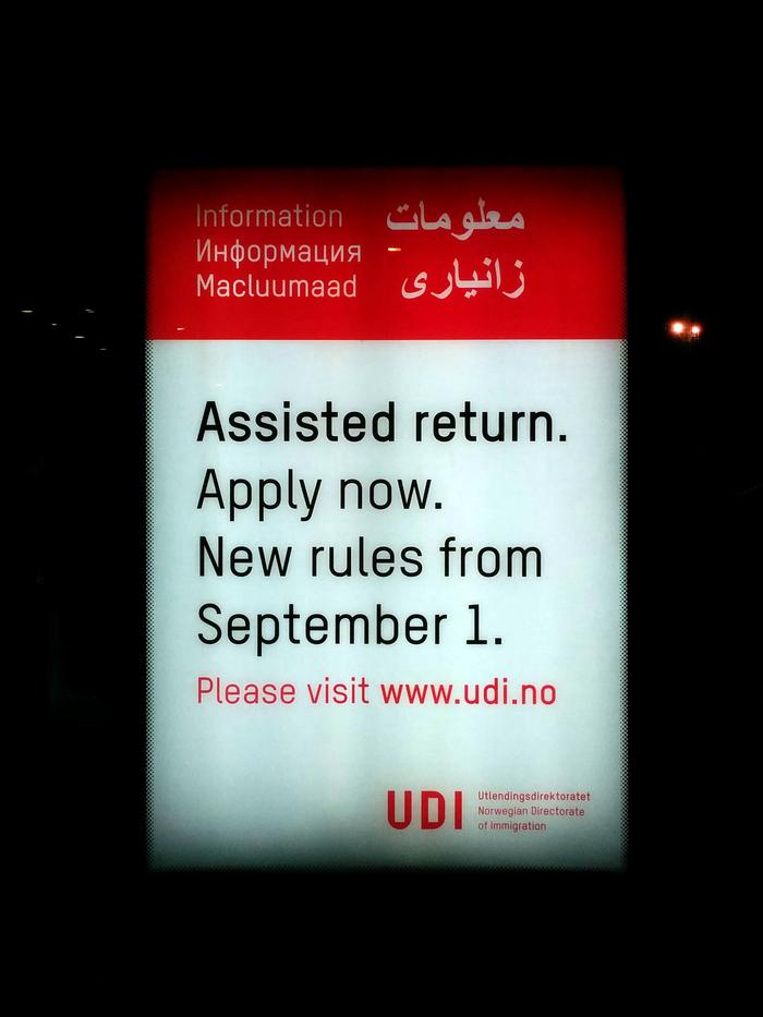 The Norwegian Directorate of Immigration (UDI) 1