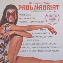 Paul Mauriat and his orchestra – <cite>Blooming Hits </cite>album art