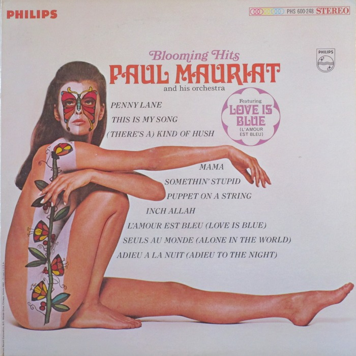 Paul Mauriat and his orchestra – Blooming Hits album art