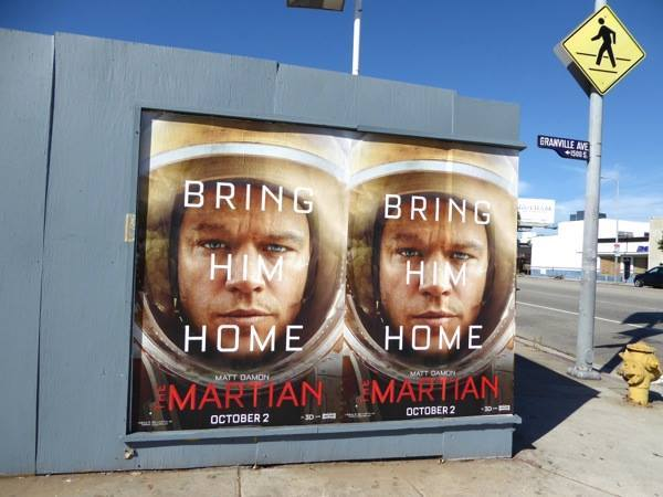 The Martian promotional campaign 7