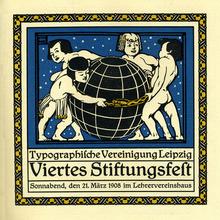 Stiftungsfest, Typographische Vereinigung Leipzig