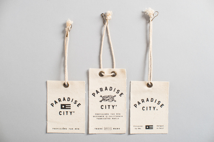 Paradise City hangtags and labels 6