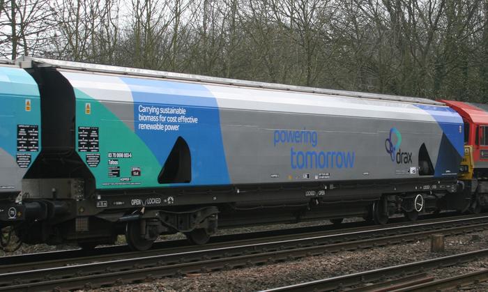 Drax biomass wagon 2