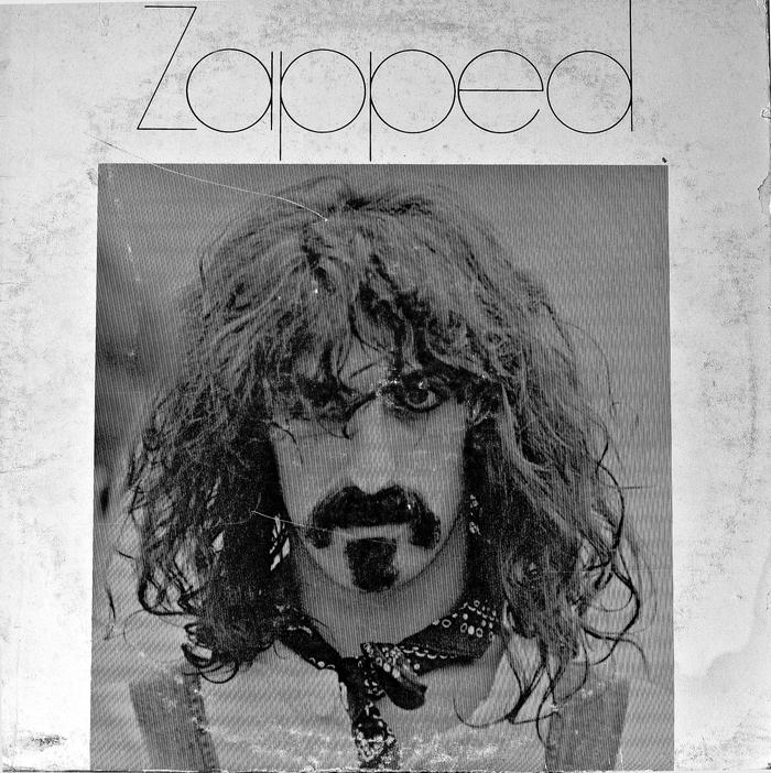 Frank Zappa – Zapped (Version 2) album art 1