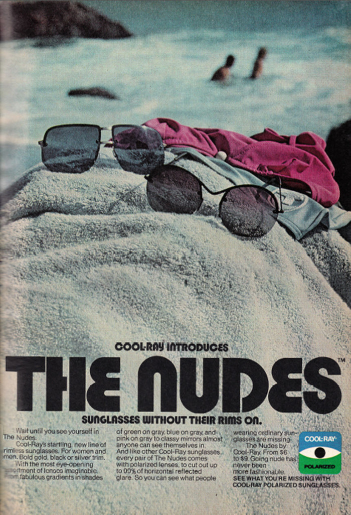"""""""The Nudes"""" Cool-Ray ad"""