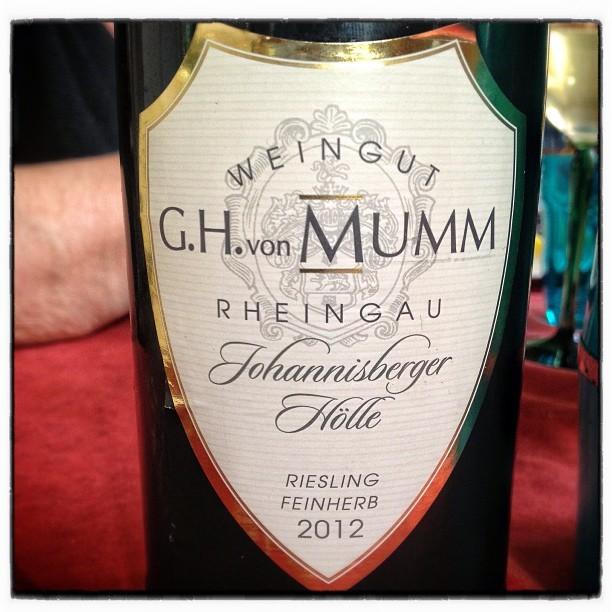 G.H. von Mumm Riesling