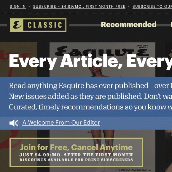 Esquire Classic 1