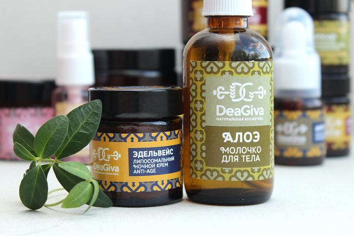 Dea Giva natural cosmetics 1