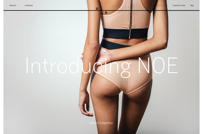 Undone website and identity 1