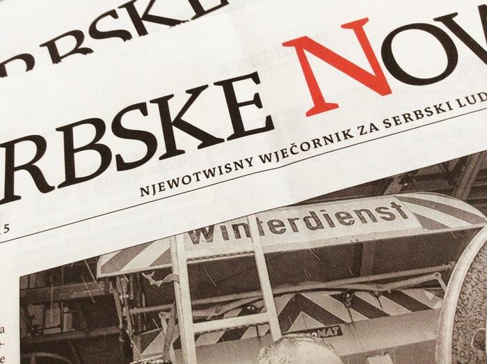 Redesign Serbske Nowiny 2