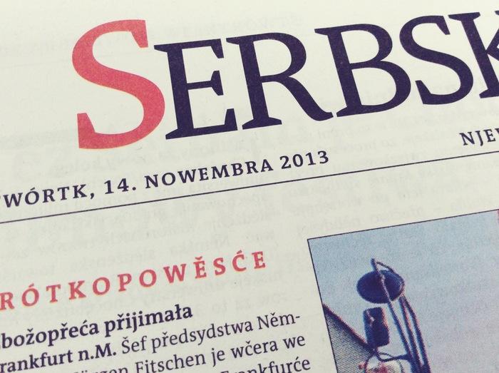Redesign Serbske Nowiny 6