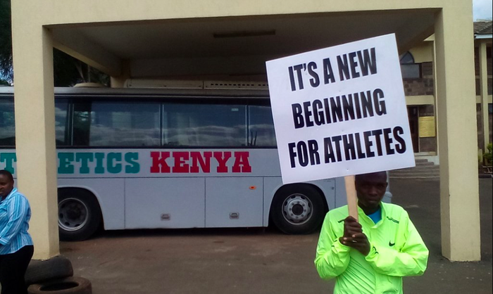 Kenyan runners occupy athletics HQ 4