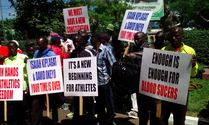 Kenyan runners occupy athletics HQ 5
