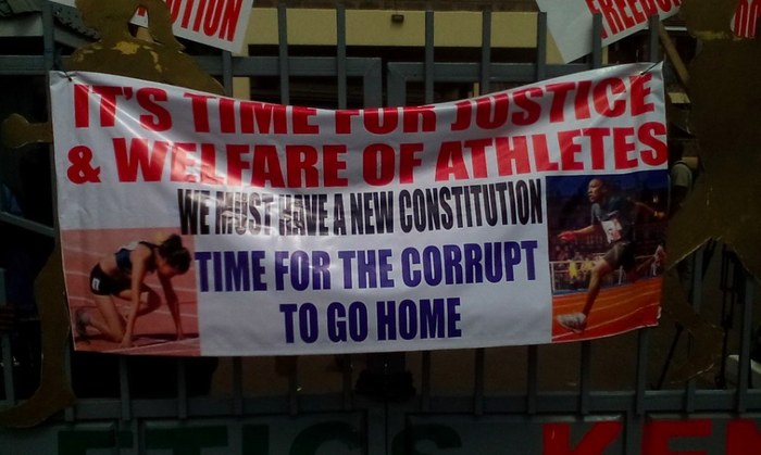 Kenyan runners occupy athletics HQ 6