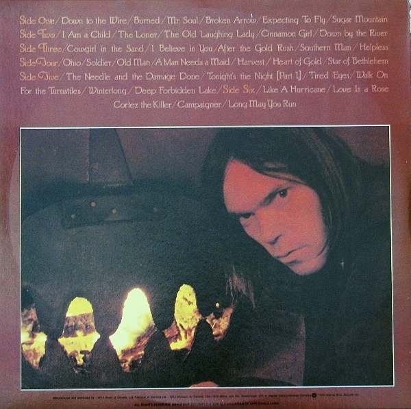 Neil Young – Decade album art 2