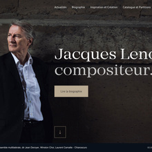 Jacques Lenot website