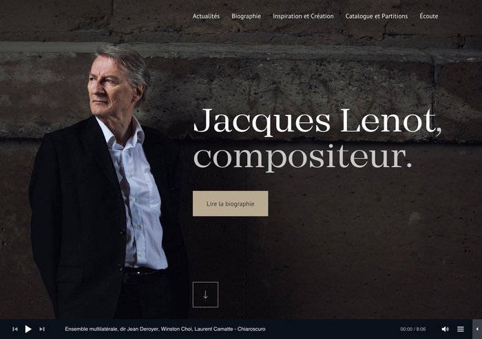 Jacques Lenot website 1