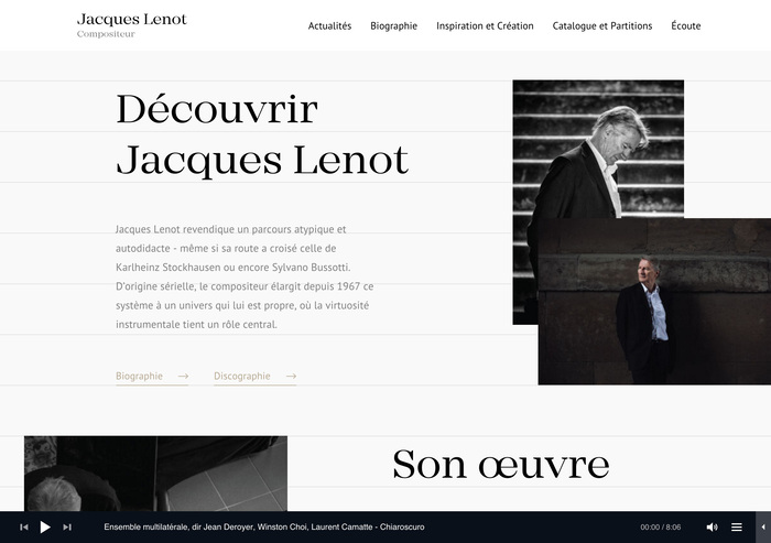 Jacques Lenot website 3