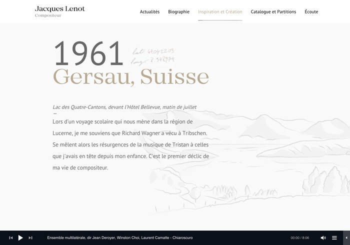 Jacques Lenot website 5