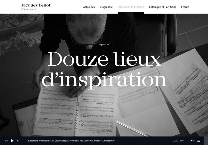 Jacques Lenot website 4