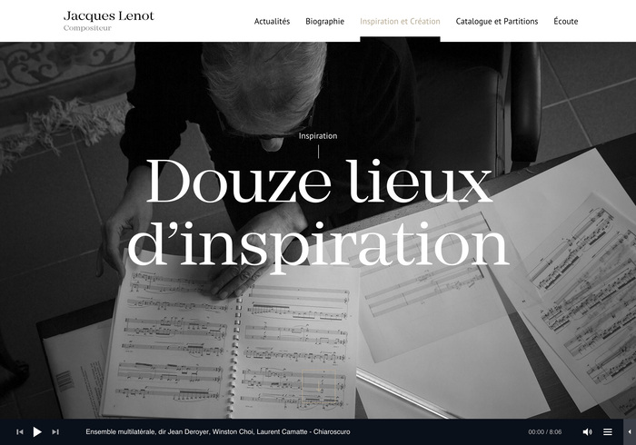 Jacques Lenot website 4