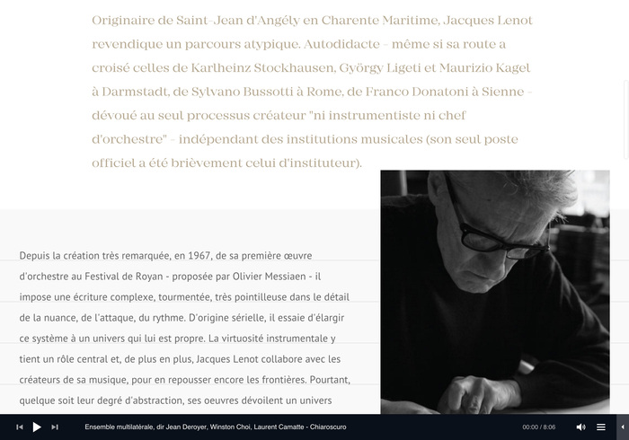 Jacques Lenot website 7