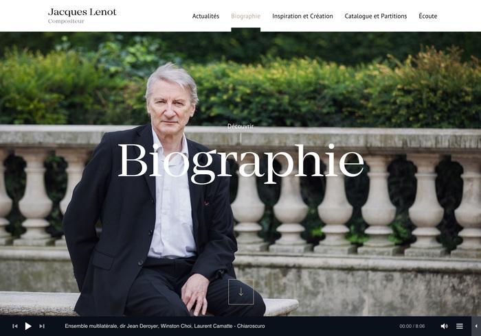 Jacques Lenot website 6
