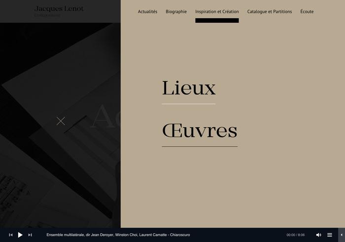 Jacques Lenot website 9