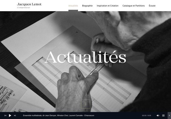 Jacques Lenot website 8