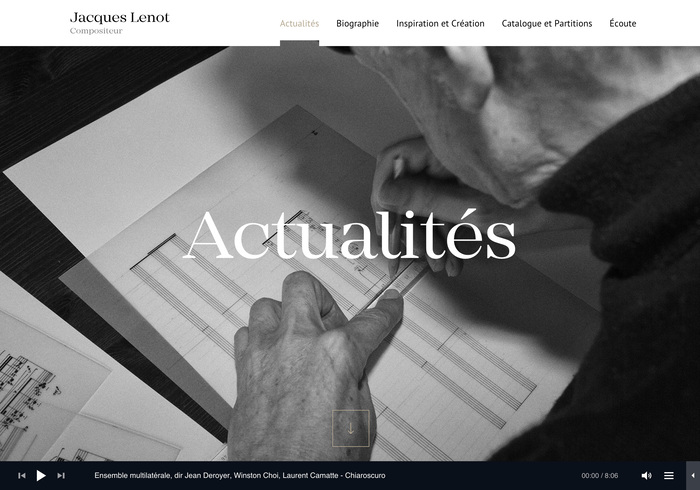 Jacques Lenot website 8