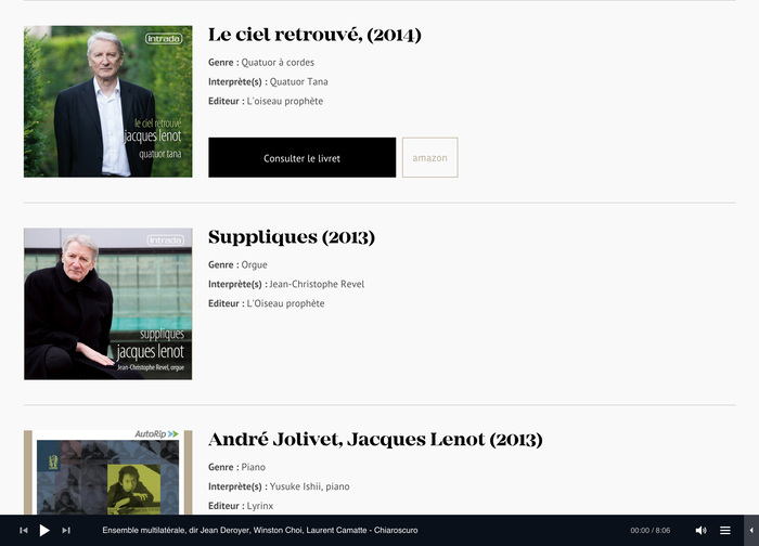 Jacques Lenot website 11