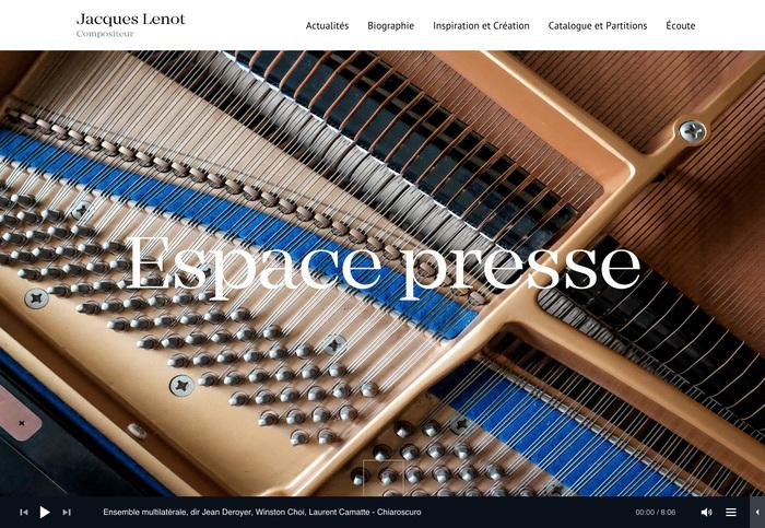 Jacques Lenot website 13