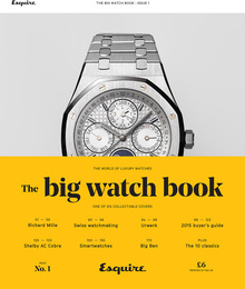 "<cite>Esquire</cite>'s <cite>Big Watch Book</cite>, issue<span class=""nbsp"">&nbsp;</span><span class=""nbsp""></span>1"