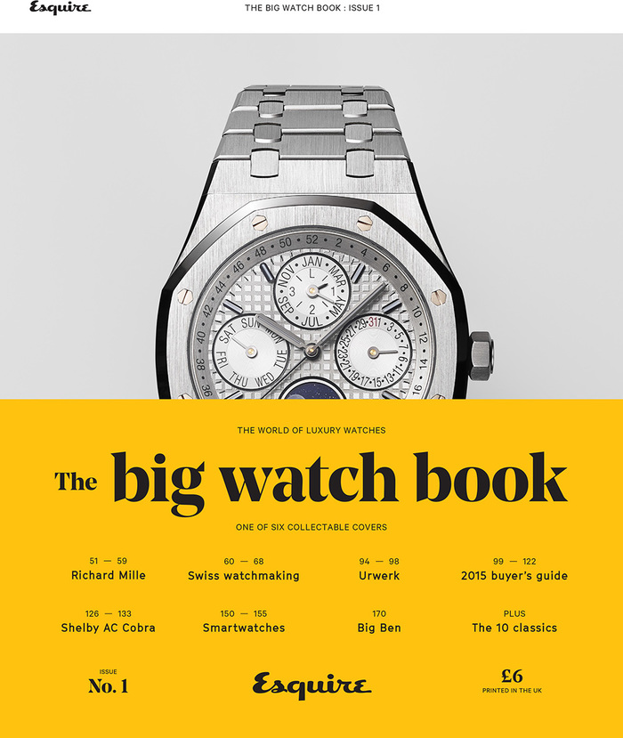Esquire's Big Watch Book, issue 1 1